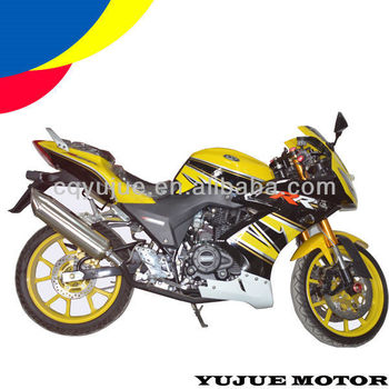 Chinese New 250cc Racing Motorcycles/Carreras de motocicletas