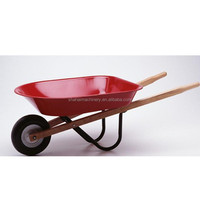 classic gardening wheelbarrows/european popular plastic deep tray wheelbarrow 160kgs
