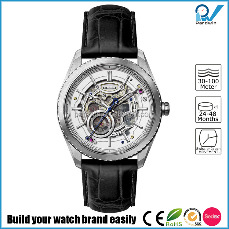 Japan Miyota 82S0 movement automatic watches men luxury mechanical chronograph watch