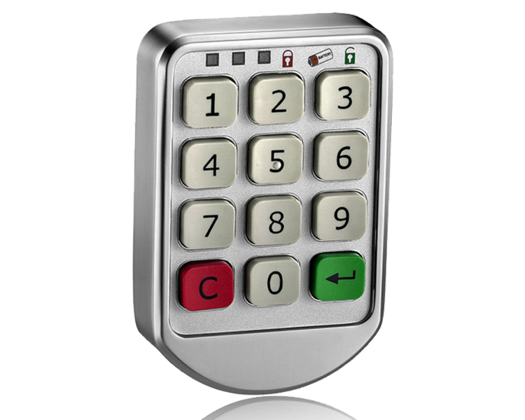Smart Intelligent Password Keypad Digital Keyless Cabinet Door Lock