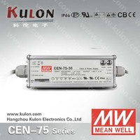 MEAN WELL POWER SUPPLY CEN-75(single output15V, 20V, 24V,30V) PFC, IP66 design switching power supply