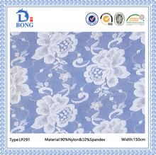 Top quality jacquard knit stretch lace fabrics for dresses