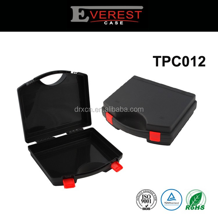 Hard protective transport handle plastic small tool carry cases