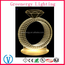 3D LED Diamond Night Light