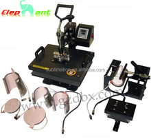 5 in 1 T-shirt/Mug/Cap/Plate Combo heat press machine
