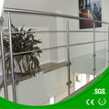 Stainless steel indoor/outdoor balastrade used wrought iron handrail railing