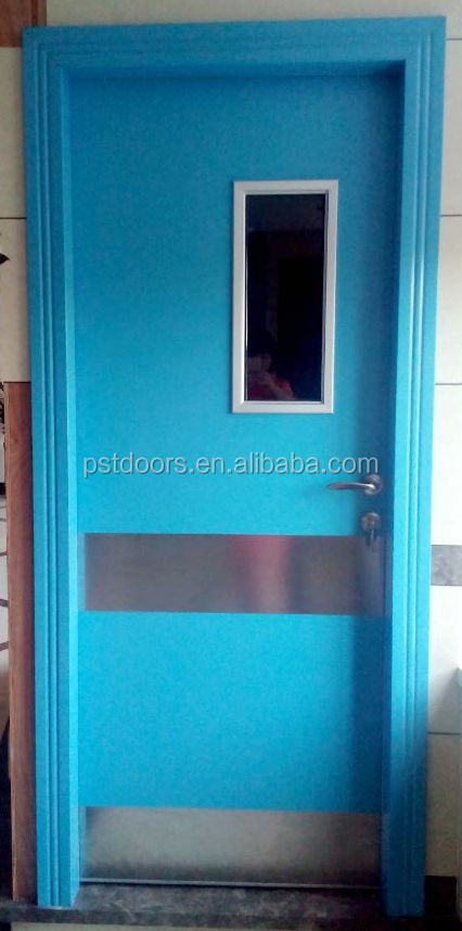 Used Metal Doors : Single leaf steel door hollow metal fire rated