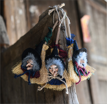 Halloween decoration costume products witch pendant gift for friend