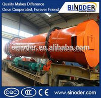 Factory price industrial sawdust wood chips rotary dryer in China