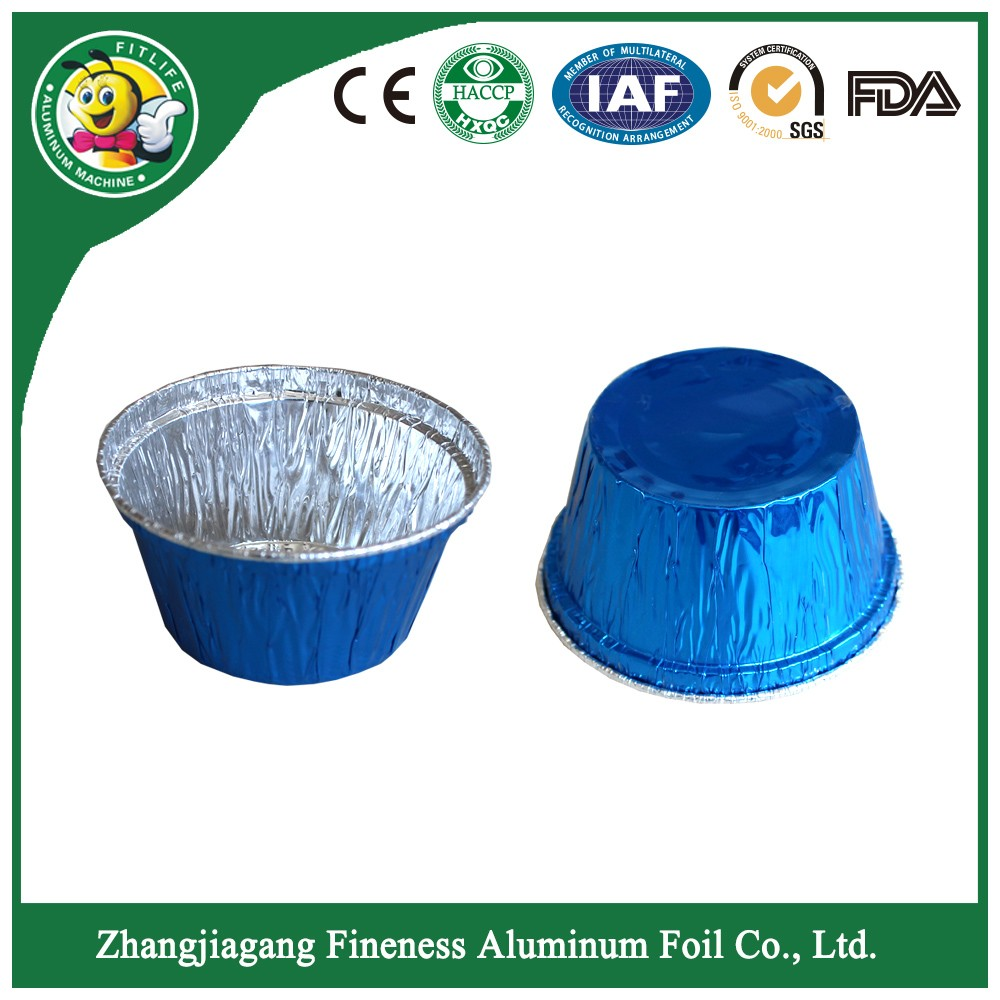 Customized Colored Aluminum Foil Containers for Food