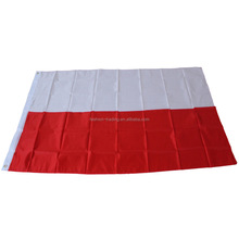 2016 Euro cup white and red High Quality Wholesale Popular Customized Poland Sports Flag