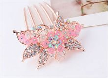 Beautiful Vogue Claws Jaw Hair Clips Weed Clip bridal headpiece hijab flower clip