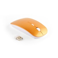 Thin compact 3 buttons wireless cordless bluetooth optical 1600 DPI PC mouse mice for windows, OS