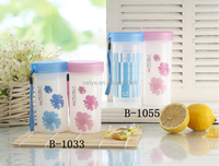 Disposable Promotional plastic PP drinking water cup hard plastic cup with lid and straw