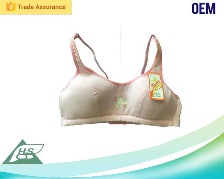 Low-cut front and open back sexy design top selling cheap wholesale young girl sports bra