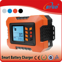 Most popular 12V deep cycle car battery charger with 7 stage charging process