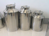 Hot Sale 304 Stainless Steel Milk Buckets
