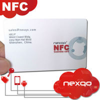 Hot Sale MIFARE Classic 1K NFC Paper Business Card
