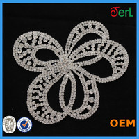 Hot!!! Well-selling beauty rhinestones trimming sew on dresses