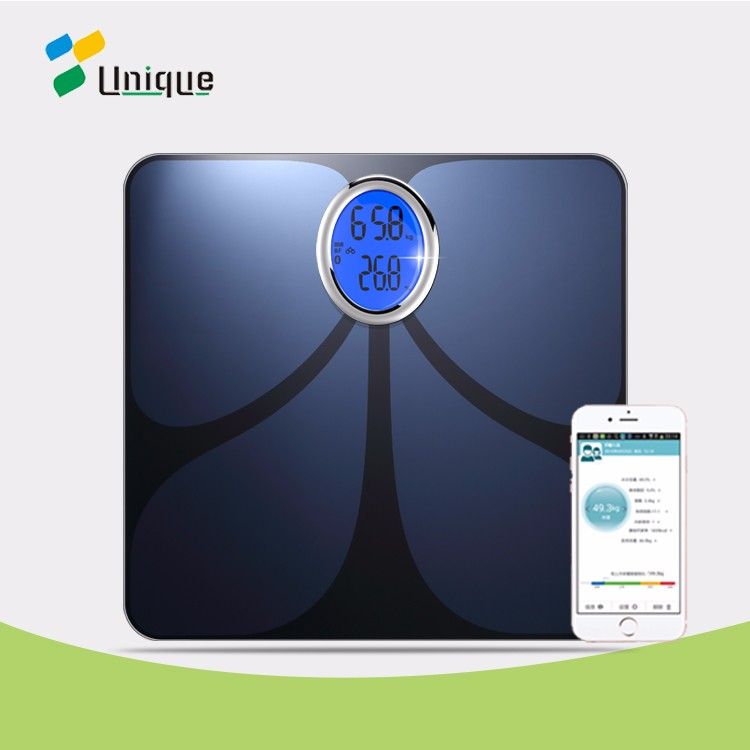 Eat smart precision household human Bluetooth full body analysis bathroom scale for large feet
