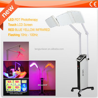 Colorful LED Phototherapy Light Therapy Facial Skin Spa Equipment