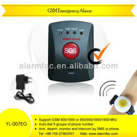 GSM alarm for old people with SOS button and panic button(YL-007EG)