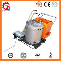 GD320 ISO automatic glass bead dispenser thermoplastic Paint Zebra Crossing road Marking machine