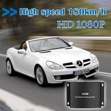 HD Car DVB-T TV tuner receiver box, Compatible with DVB-T, MEPG-2/4 and H.264 standards
