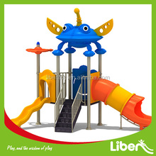 kids play system,outdoor plastic play structure,children playground equipment LE.XK.018