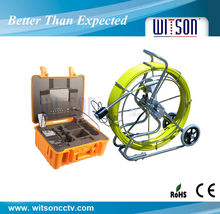Witson long pipe inspection camera CCD,DVR,sonde,screen optional,cable optional