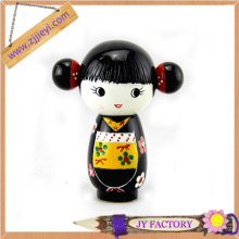 eco-friendly oil color promotion resin girl model