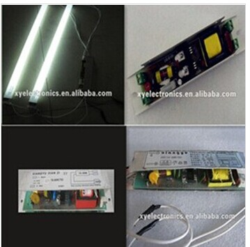 12v/24v T8 20-40W/2X18W electronic ballast for fiuorescent lamp