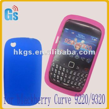 Latest Silicon Case Cover For Blackberry Curve 9220 9320
