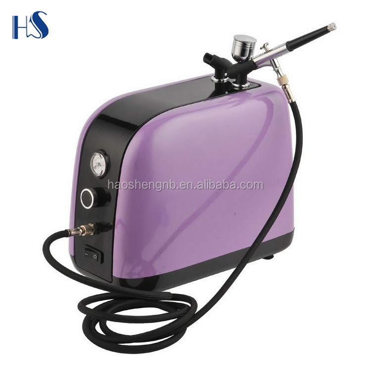 China factory happy birthday cake decorating tools cake machine airbrush compressor kit supplier