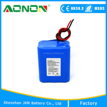 CE, RoHS Approved 3.7v 18650 8000mah Li-ion Battery Pack