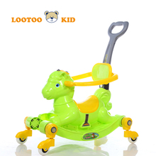 Alibaba china manufacturer hot sale cheap price plastic sliding car riding horse toy for kids