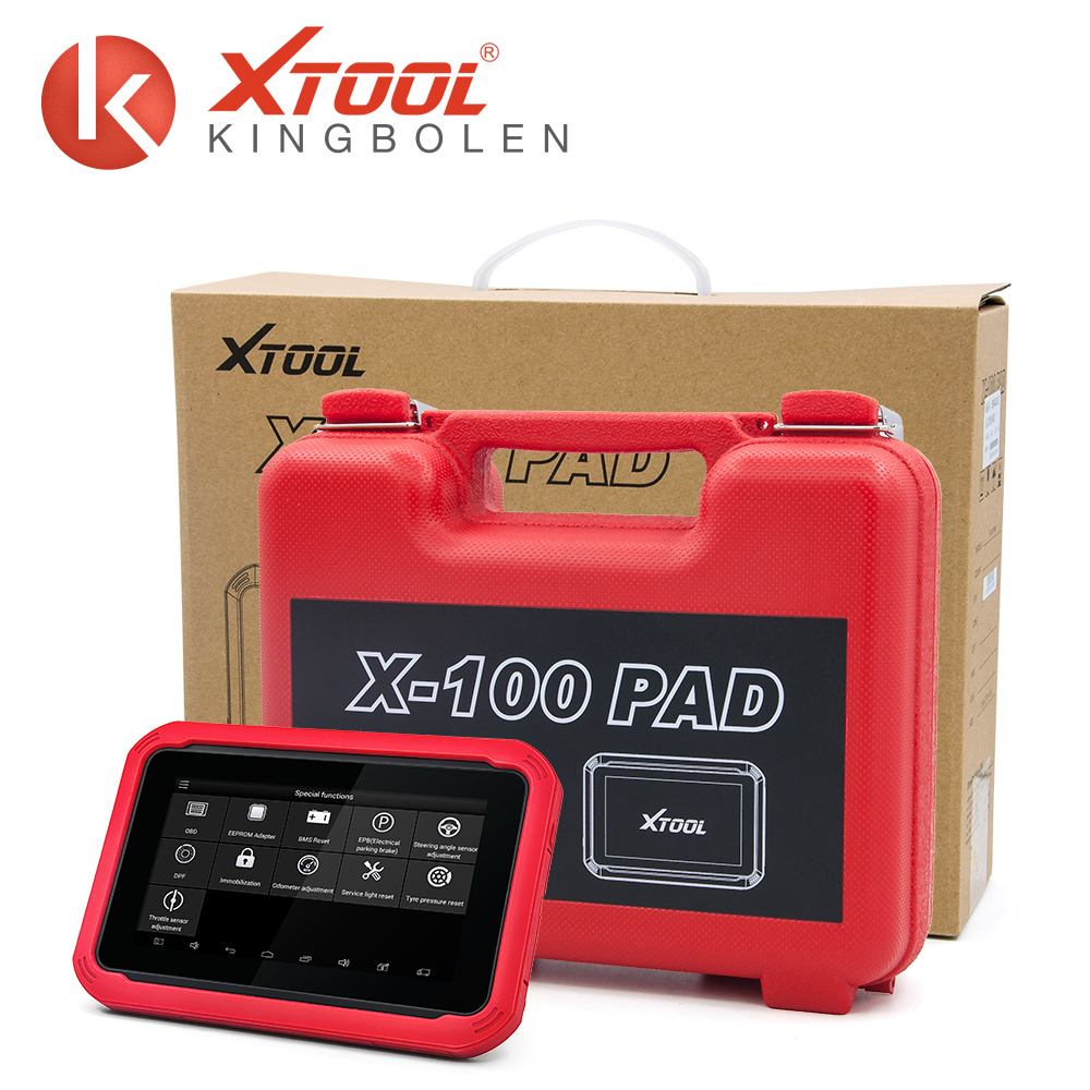 XTOOL X100 PAD PIN Code reading universal cars key programmer