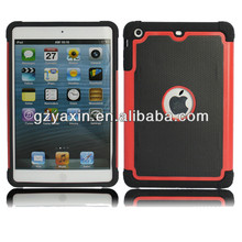 Football design shockproof case for ipad mini