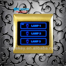 3 gang touch control panel, smart switch, lighting control