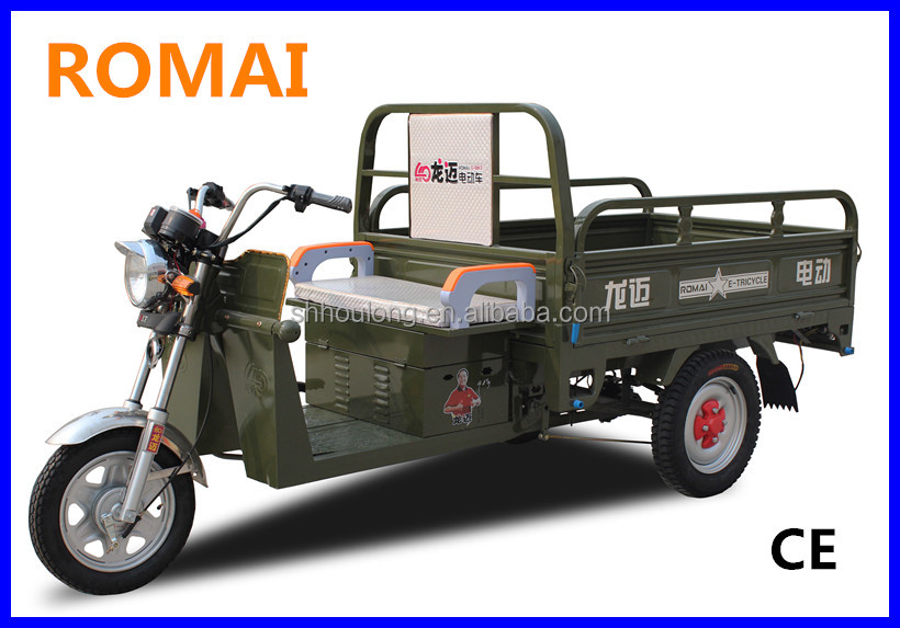for cargo electric cycle rickshaw