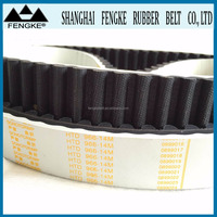 White Rubber Coated Synchronous Belts