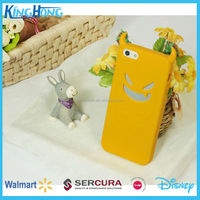 animal shaped silicone rubber mobile phone accessory case for Iphone5, Iphone6