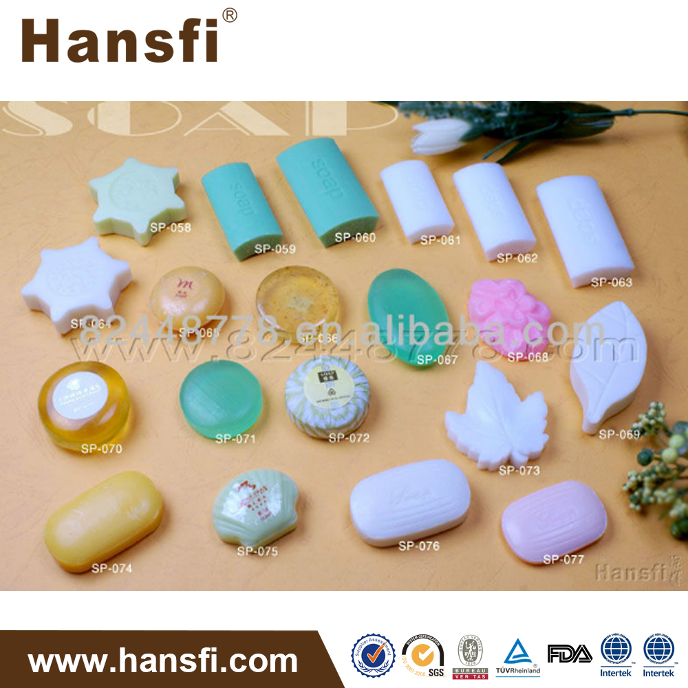 5 star high quality with good smell hotel soap