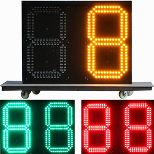 china suppliers sports digital countdown timer outdoor led digital sign board