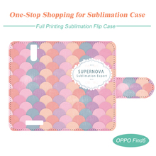 Sublimation Leather Mobile Phone Case for OPPO Find 5