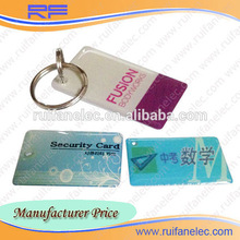 NEW Free samples rfid employee id epoxy cards with TK4100 chip