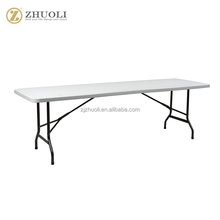 wholesale high quality outdoor rectangle folding table with modern style