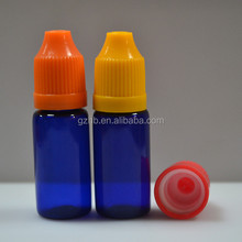 10ml 20ml 30ml weight empty plastic bottle plastic dropper bottle PET cobalt blue plastic bottles for cosmetic packaging