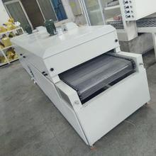 Inductance coil tunnel drying oven assembly line
