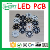 Smart Bes Aluminum Core Material PCB Supplier with Aluminium PCB Board Led Soldered MC PCB